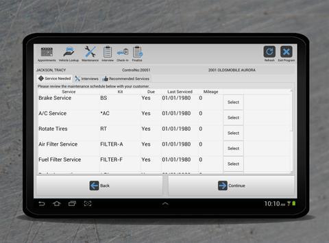 PaceTab for Shop Management apk screenshot