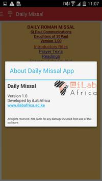 The Daily Missal apk screenshot