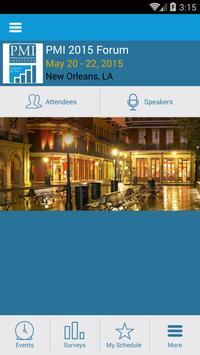 PMI Forum poster