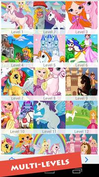 Princess & Little Pony Game poster