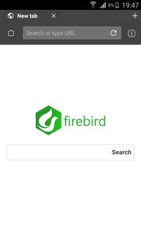 Firebird Browser Pro superFast apk screenshot