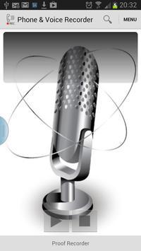 Phone & Voice Recorder apk screenshot