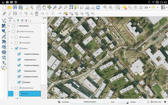 QGIS - Experimental apk screenshot
