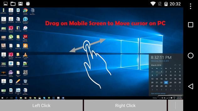 Visual PC Remote Control apk screenshot