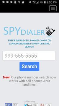 Spy Dialer poster
