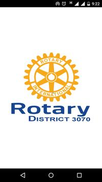 Rotary District 3070 Official poster