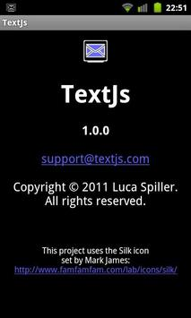 TextJs - SMS From Your Browser poster