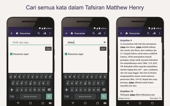 Tafsiran Matthew Henry apk screenshot