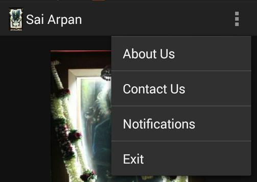 Sai Arpan App apk screenshot
