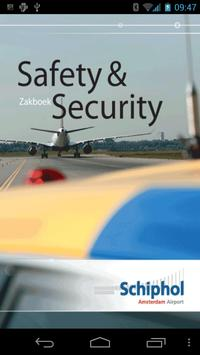 Schiphol Safety & Security poster