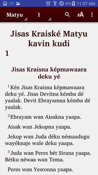 Maprik - Bible poster