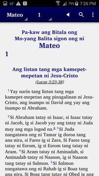 Agutaynen - Bible poster
