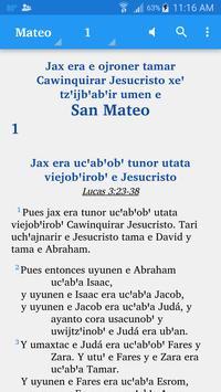 Chortí - Bible poster
