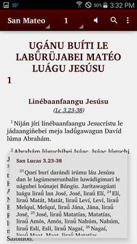 Garífuna (Caribe) - Bible apk screenshot