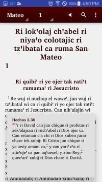 Kaqchikel, Western - Bible apk screenshot