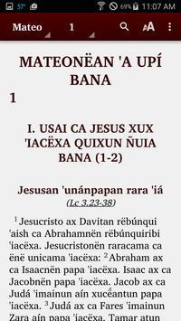 Kakataibo-Kashibo - Bible poster