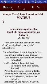 Huni Kuĩ (Brazil) - Bible poster