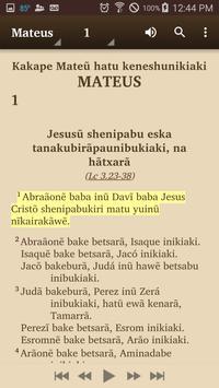 Huni Kuĩ (Brazil) - Bible apk screenshot