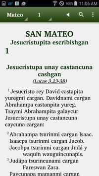 Margos Quechua - Bible poster