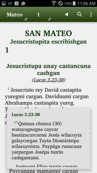 Margos Quechua - Bible apk screenshot