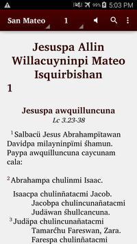 Quechua Wanca - Bible poster