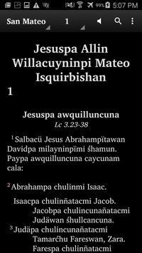 Quechua Wanca - Bible apk screenshot