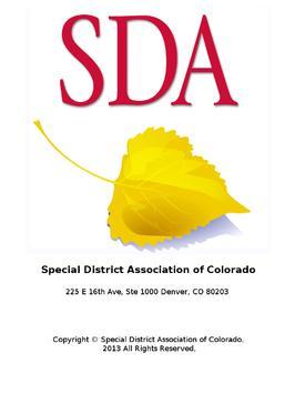 SDA of Colorado poster