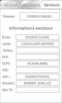 Contacts SE-Unsa apk screenshot