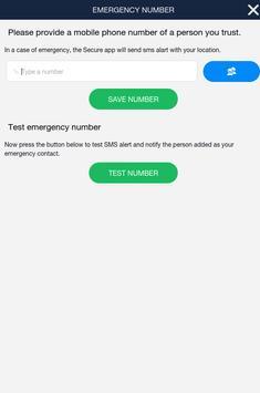 Secure app apk screenshot