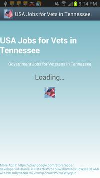 Tennessee USAJobs for Veterans poster