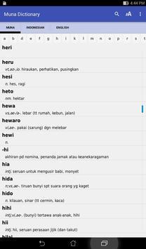 Muna dictionary apk screenshot