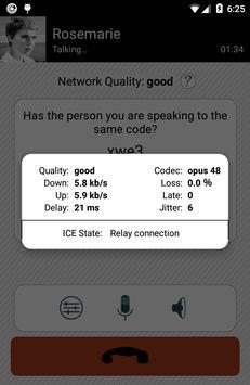 Simlar - free and secure calls apk screenshot