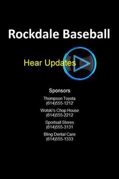 Rockdale Baseball poster