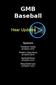 GMB Baseball poster