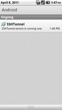 SSH Tunnel apk screenshot