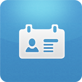 Business eCard icon