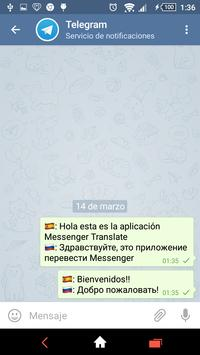 Translate Messenger apk screenshot