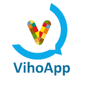 VihoApp messenger - Free chat icon