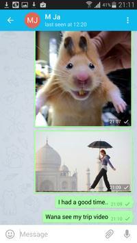 VihoApp messenger - Free chat apk screenshot