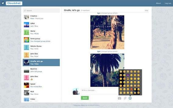 Cloudchat Messenger (Betà) apk screenshot