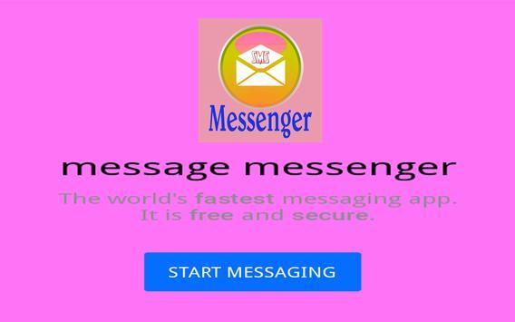 Message Messenger apk screenshot