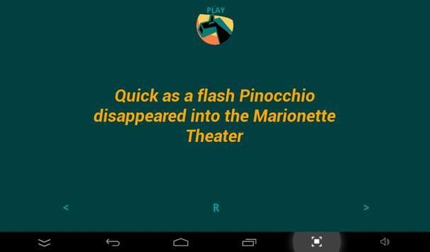 Pinocchio 10 (FERS) apk screenshot