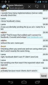 Tigase Messenger apk screenshot