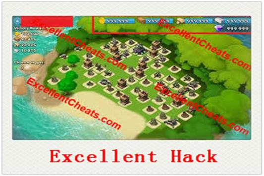 ED Hack For boom beach poster