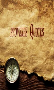 proverbs Quotes poster