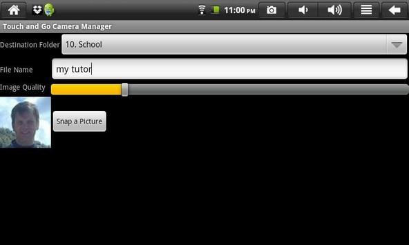 Touch and Go - Speak apk screenshot