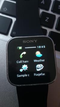 SmartWatch Ragefaces apk screenshot