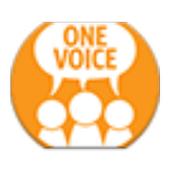 UNFPA One Voice icon