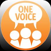 UNFPA One Voice Mobile icon