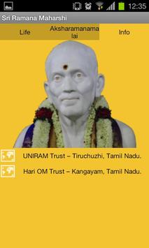 Sri Ramana Maharshi apk screenshot